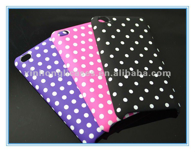 Hard plastic case back covers for iPod touch4