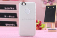 6G 4.7'' Soft TPU Cellphone Case Translucent Matte two in one