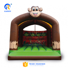 Cheap monkey jumping inflatable bouncer castle,inflatable bounce house for kids