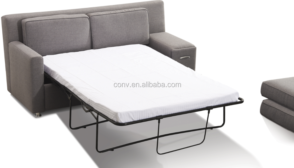 Fabric hotel modern sofa cum bed with drawer buy modern for Sofa bed hotel
