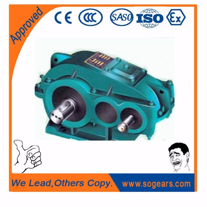 Zq series gearbox,gear reductor, cylindrical worm gear reducer