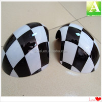 high quality OEM PC vacuum forming car side plastic decorate mirror cover