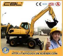 CBL-85 hyundai excavator wheel excavator for sale