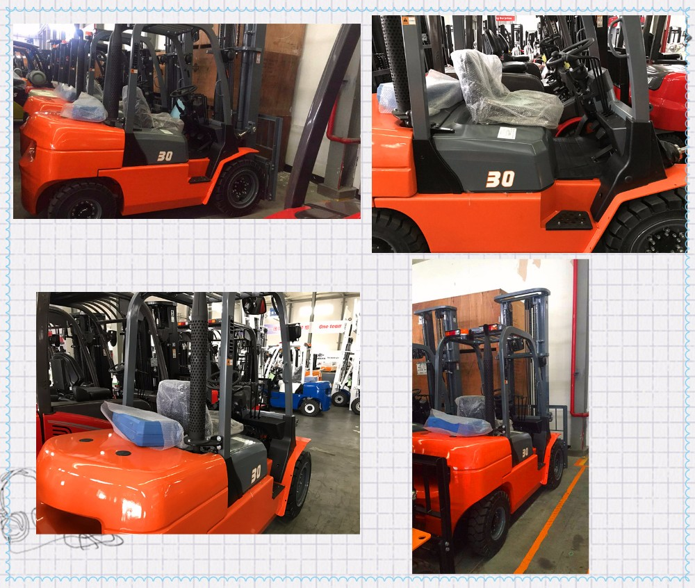 REDDOT R series 2.5ton/3 ton Diesel Counterbalance Forklift Truck