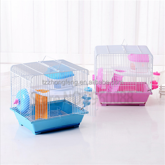Oversized drawer Guinea Pig cage Hamster cage Pull Travel carry Hedgehog cage#L34*W27*H33.5CM