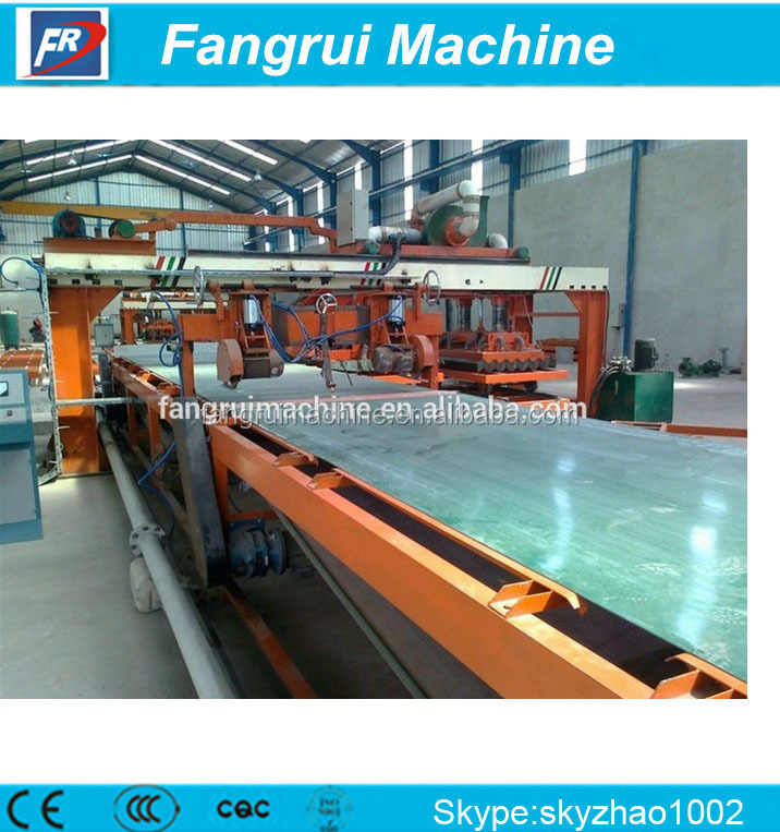 fiber cement board production line ,t bar roll forming machine