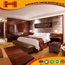 XY factory custom luxurious ISO14001 black walnut formica bedroom furniture