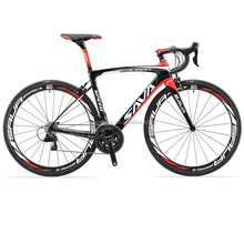 SAVA 700C Road Bike T800 Carbon Fiber Frame /50MM Wheelset /Fork/Handlebar/Headset/Seatpost with 22 Speed 105 5800