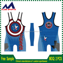 custom made wrestling singlets for club and school team