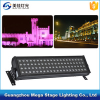 ip65 outdoor building light 80pcs wireless dmx 3in1 rgb led wall washer