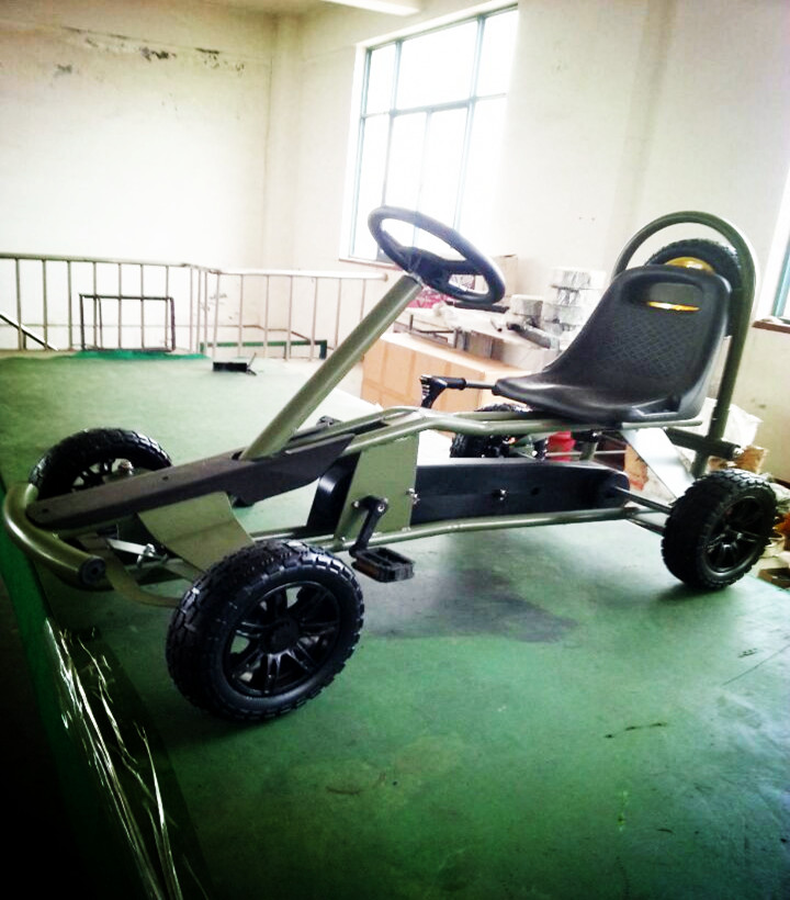 Best sell gift four wheels adult pedal go kart