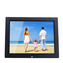 Wall mount or desktop display low cost 14 inch digital photo frame