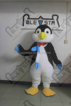 blue scarf penguin mascot costumes hot sale penguin costumes