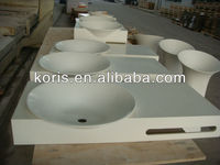 Factory direct export Solid Surface bathroom Wash Basin