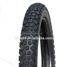 motorcycle tyre 350-16 with new off-road pattern (50% rubber content )