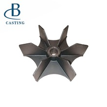 Bronze Sand Casting Water Pump Impeller Copper Precision Investment Casting