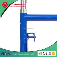 5'6'4'' Single box v lock scaffolding frame Powder coated scaffolding frame