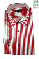 Double Collar Mens Dress Shirt In Classic Line