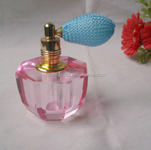 custom made mini pink perfume bottle crystal wholesale MH-XS0069