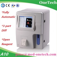Full auto hematology analyzer A10P / 3-part differentiation blood cell count machine for laboratory