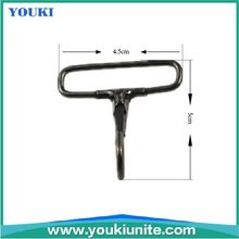 cheap high quality black nickel metal snap hook with fast delivery