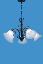 5 Heads UL chandelier vintage lamp pendant lighting , hanging lighting with glass shade Excellent