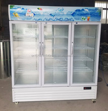 pepsi drink display cooler fridge