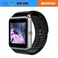 Factory Wholesale GT08 Smart Watch Phone With Sim Card