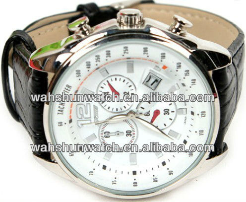 six watch hands men's stop watch fashion watch for men with high quality