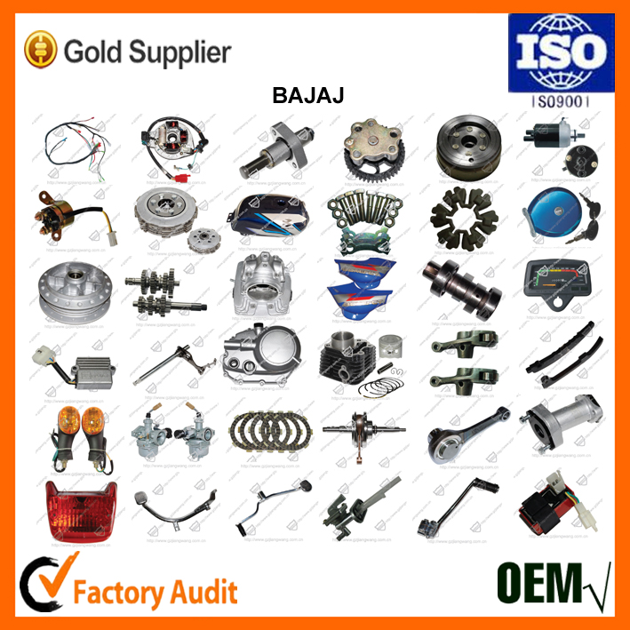 Bajaj Motorcycle Parts / Repuesto Para Accessories de Moto
