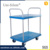 China manufacturer hand push cart 2-tier shopping cart flatbed and multi-deck trolleys