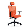 Back support computer mesh office desk chair with swivel