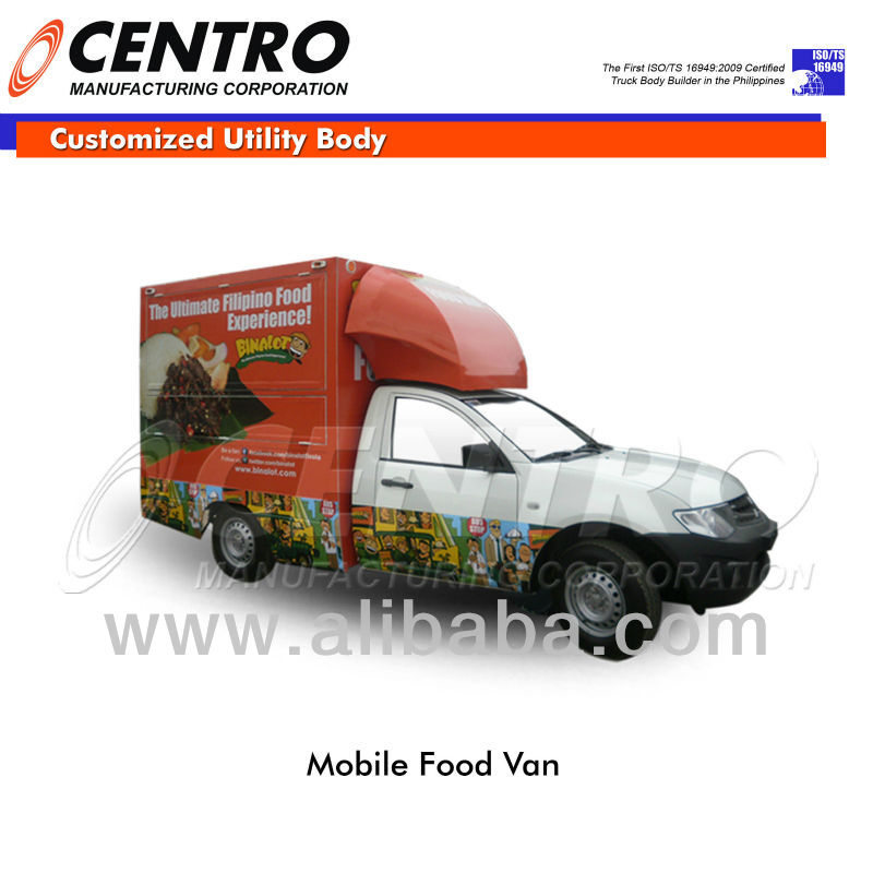MOBILE FOOD VAN/ FOOD TRUCK (CALL US: 4806557/ 09228393712)