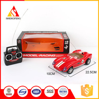 Retro sports red vintage classic racing rc cars parts model toy