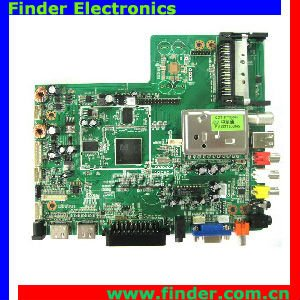 LCD AD Control Board for HD TV/AV/PC with DVB-T