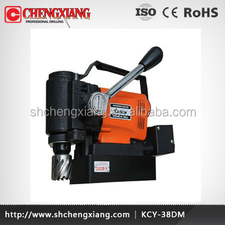 CAYKEN mini porable horizontal magnetic drill base drill machine KCY-38DM
