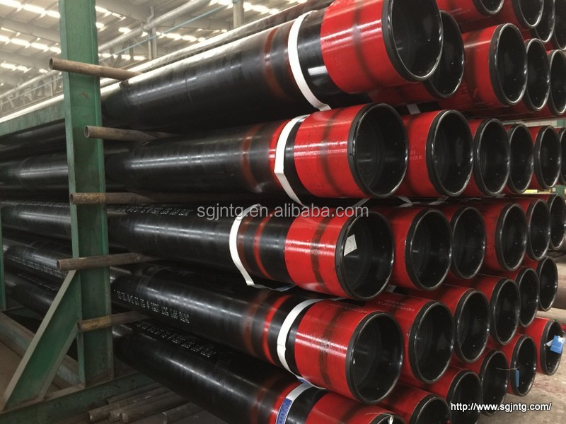 hot rolled API 5ct standard Q125 seamless steel casing pipe