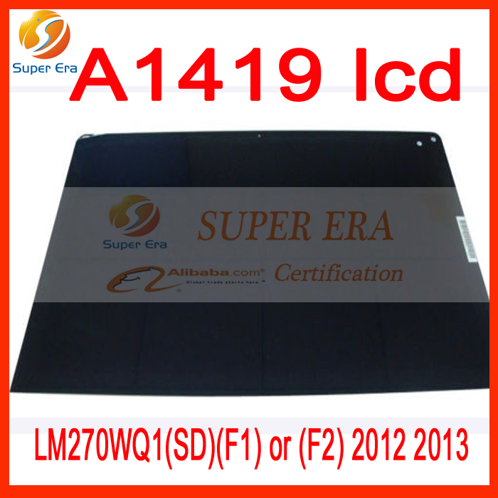 A1419 lcd screen for imac 27'' A1419 led screen display LM270WQ1(SD)(F1) or (F2) 2012 2013