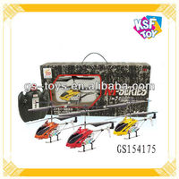 Powerful Metal 3CH RC Helicopter Toy Remote Control Airplane