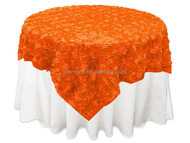 Fancy Wedding Table Cloths Tablecloth Decorative Round