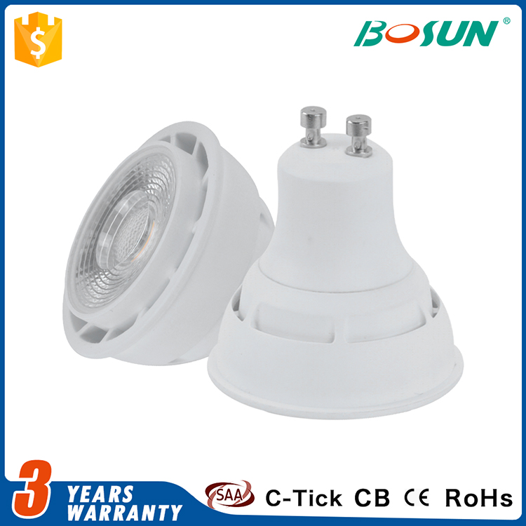 most powerful ce rohs MR16 GU10 waterproof dimmable 5w cob led spot lighting