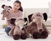 wholesale plush animal doll customizable elephant custom plush toy