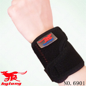 HYL-6901High quality neoprene wristband badminton basketball waterproof wrist wraps support