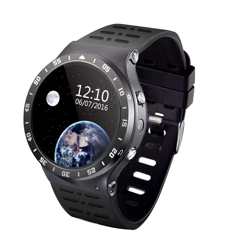 2017 Year Hot 3G WIFI BT Phone Watch with Heart Rate