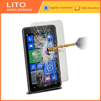 Super quality premiun tempered glass screen protector for mobile phone nokia lumia 625