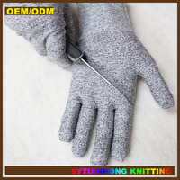 High Performance Cut Level 5 Protection Finger Protective Cut Resistant gloves