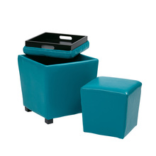 YS-OM07 Hotel sepcific use storage PU leather sex furniture ottoman