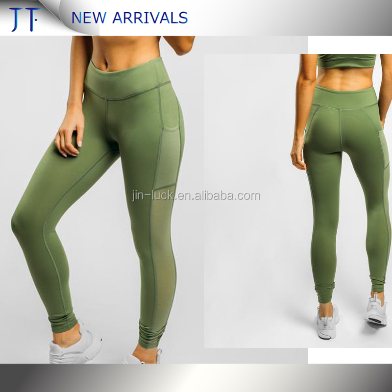 OEM Factory private label fitness wear yoga pants womens