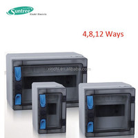 HAN Series IP65 waterproof lighting box power distribution box 4ways 8ways 12ways
