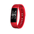 New Product Smart Wristband 0.96OLED Blood Pressure Heart Rate Monitoring Message push Fitness tracker Bluetooth